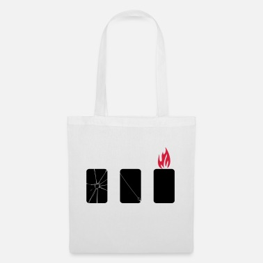 mobile phone harm - Tote Bag