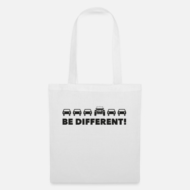 Jk Be Different - JK - Tote Bag