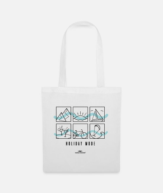 Mountains Bags & Backpacks - Garda Lakers Holiday Mode Holiday Mode - Tote Bag white