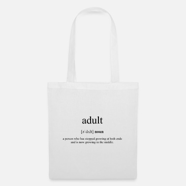 Adult Adult (adult) - Tote Bag