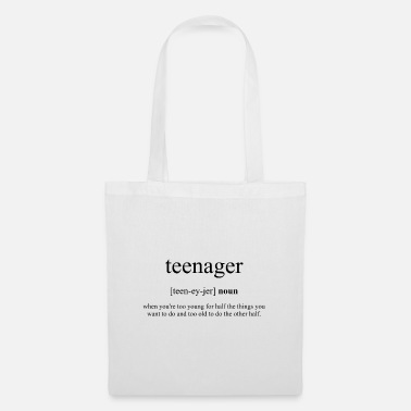 Teenager Teenager (teenager) - Tote Bag