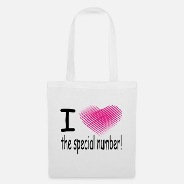 Macho i love the special number - Tote Bag