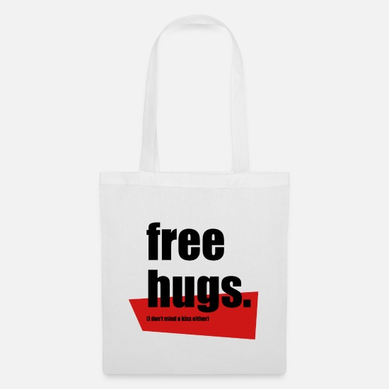 Free Hugs Bags & Backpacks - Free hugs - Tote Bag white