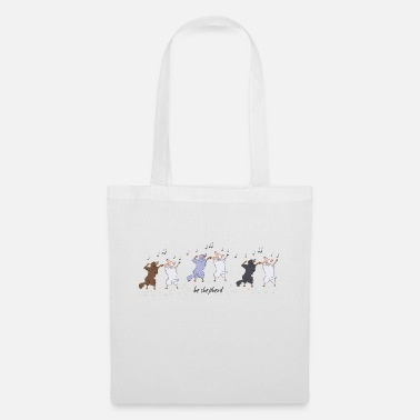 Aussie Shepherds and Sheep - Tote Bag