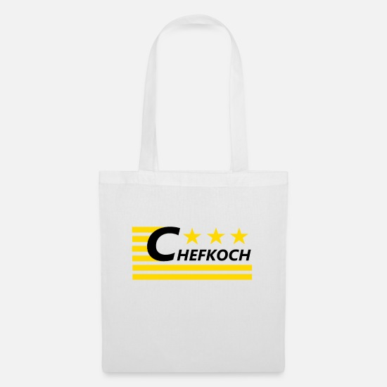 Gift Idea Bags & Backpacks - chef - Tote Bag white