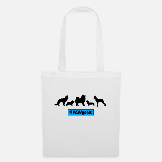 Gift Idea Bags & Backpacks - PAWgoals Dogs Dogs Paw - Tote Bag white