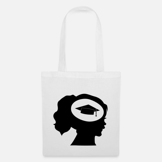 Studies Bags & Backpacks - Akademikerin - Tote Bag white