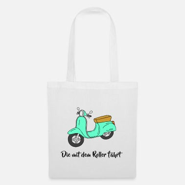Scooter Scooter - The scooter drives - Tote Bag