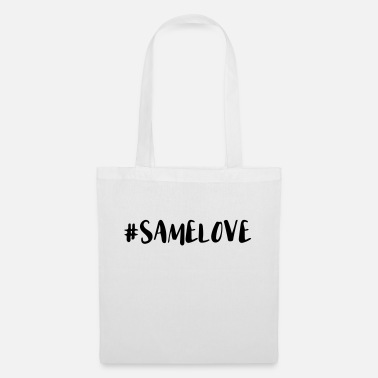 Lovely Same Love Hashtag - Tote Bag