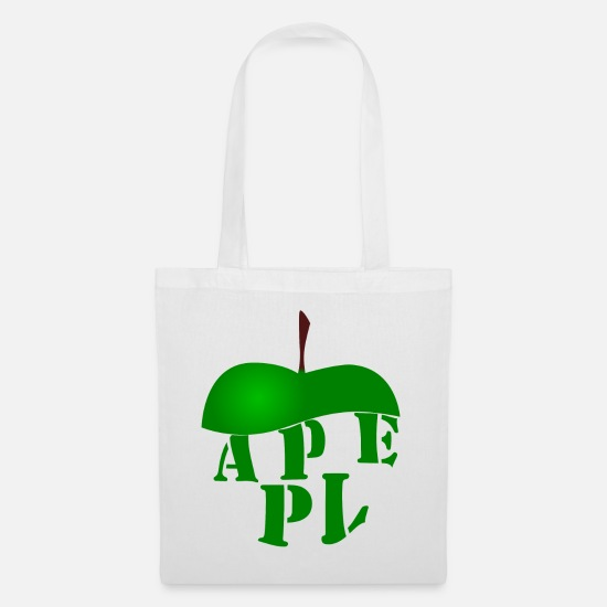 Nature Bags & Backpacks - APPLE apple - Tote Bag white