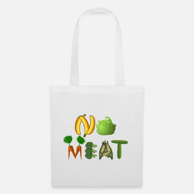 No Meat No meat - Tote Bag