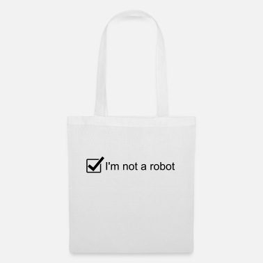 Homepage I'm not a robot - Captcha - re-captcha - Homepage - Tote Bag