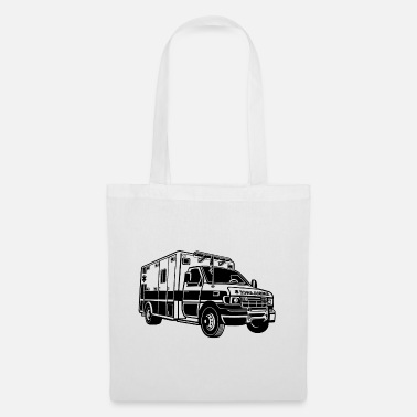 Ambulance Ambulance / ambulance 01_black - Tote Bag