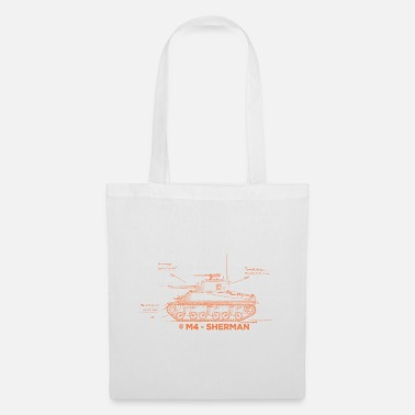 World of Tanks M4 Sherman - Tote Bag