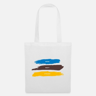 Beach, watts, sea - Tote Bag