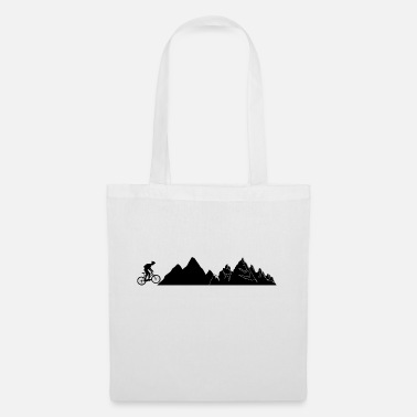Mountain Bike Mountain Bike Mountains Bike - Tote Bag