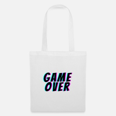Game Over Game Over. t-shirt game over - Sac en tissu