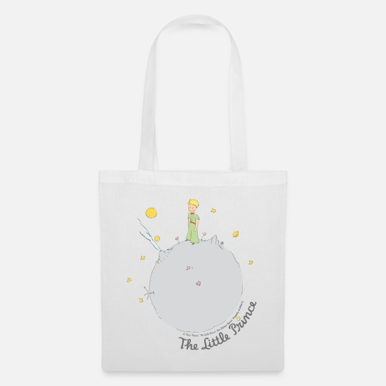 Kids Bags & Backpacks - The Little Prince Asteroid B612 Illustration - Tote Bag white