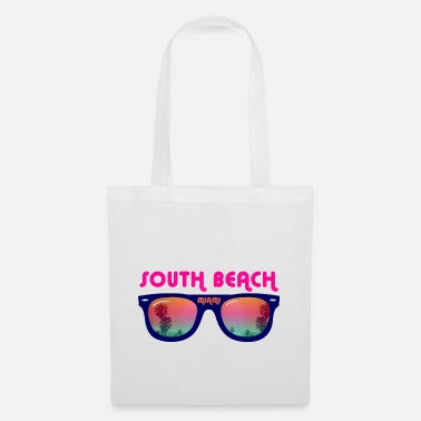 South Beach Miami - Occhiali da sole - Borsa di stoffa