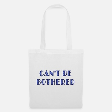 Computer can't be bothered - Tote Bag