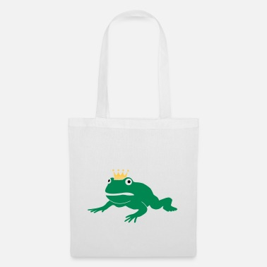 Crown grumpy frog prince - Tote Bag