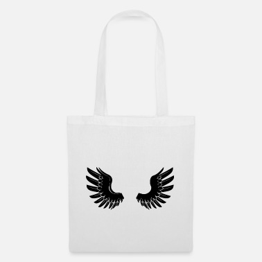 Angelwings Black Angelwings - Tote Bag