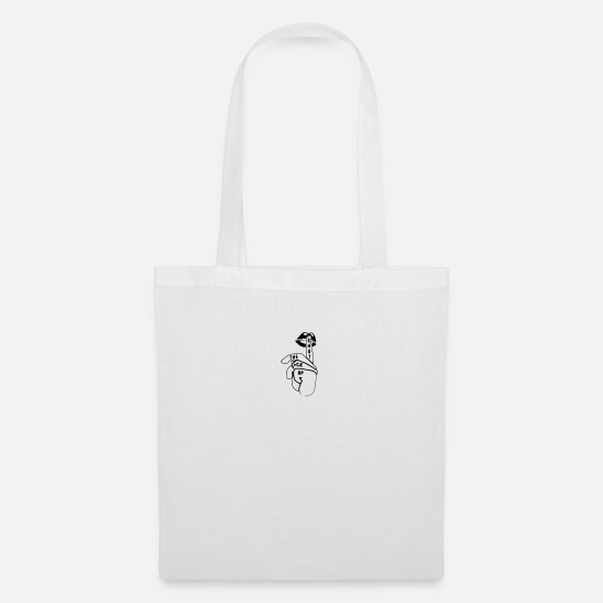 Shut The Fuck Up Bags & Backpacks - shut the fuck up - Tote Bag white