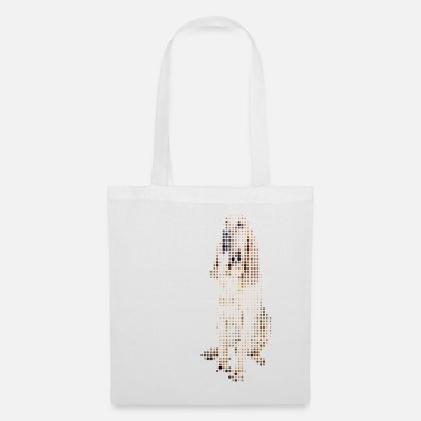 Pixelated Bloodhound - Tote Bag