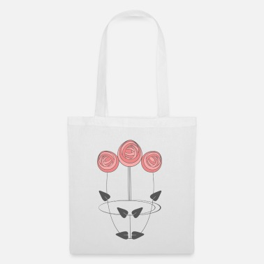 Art Mackintosh Inspired Art Nouveau Roses - Tote Bag