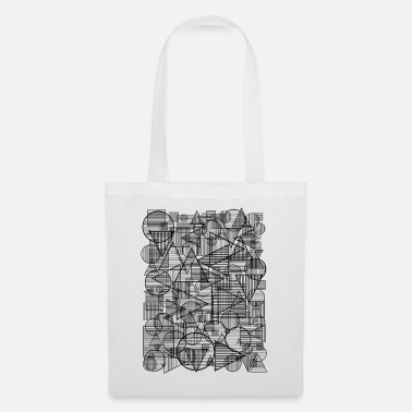 Square Pattern (Simple Form) - Tote Bag