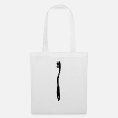 Clean W It Is toothbrush dentist brushing clean teeth w - Tote Bag