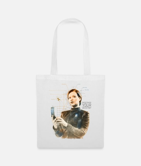 Sylvia Tilly Bags & Backpacks - Star Trek Discovery Sylvia Tilly Portrait - Tote Bag white