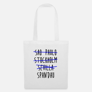 District 12 Sao Paulo Stockholm Seville Spandau Berlin district - Tote Bag