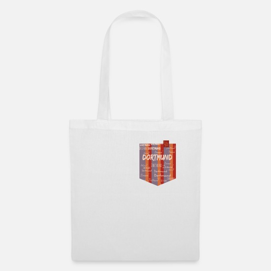 Metropolis Bags & Backpacks - Dortmund - Tote Bag white