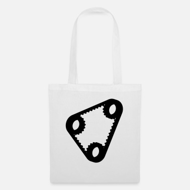 Mechanical Engineering pulleys with belt_p1 - Tote Bag