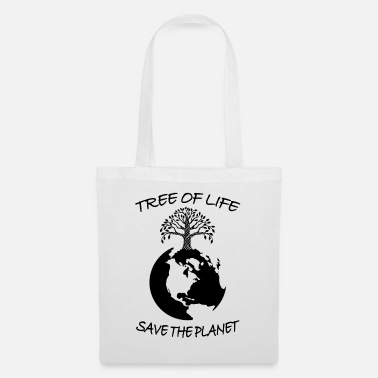 Carbon Tree of life climate protection - Tote Bag