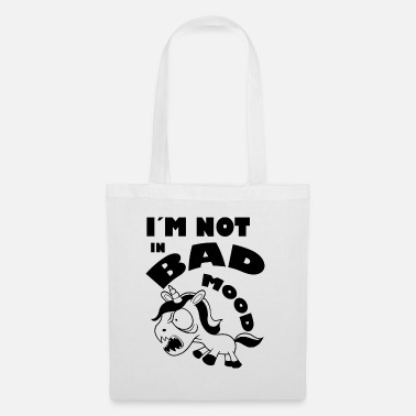 Bad Mood Unicorn bad mood - Tote Bag