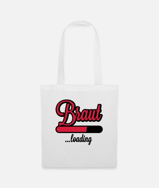 Loading Bar Bags & Backpacks - Braut loading | Junggesellinnen - Tote Bag white