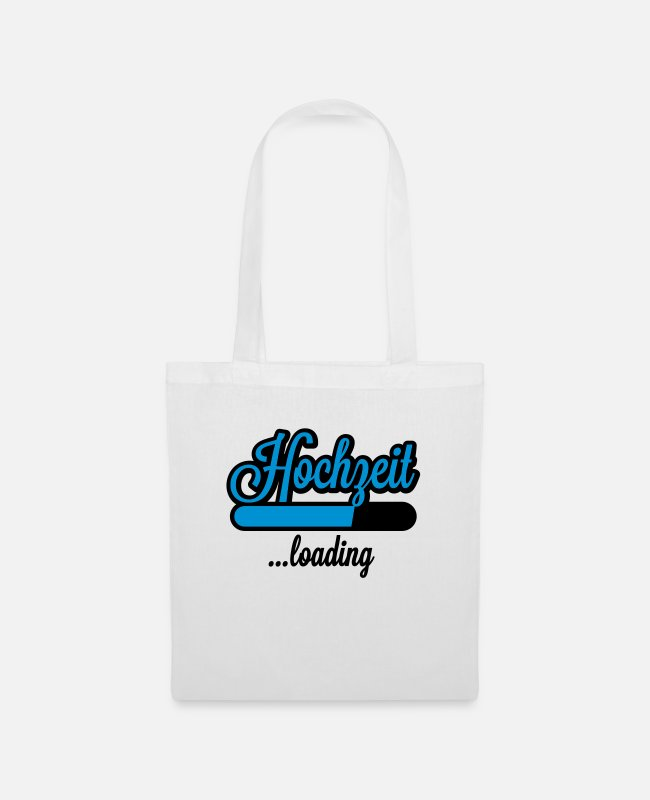 Loading Bar Bags & Backpacks - Hochzeit loading - Tote Bag white