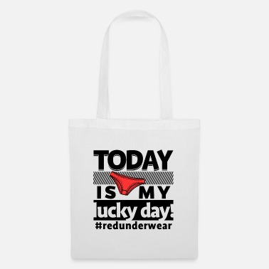 Celebrate Underwear Lucky Charm New Year's Eve New Year Funny saying - Tote Bag