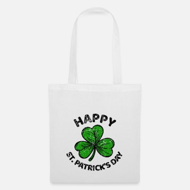 Leaf St. Patricks Day congratulations saying Patty Paddy - Tote Bag