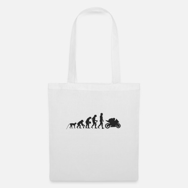 Evolution motorcycle - Tote Bag