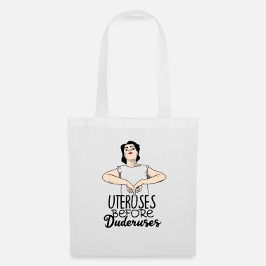Emancipation Woman feminism uterus gift - Tote Bag