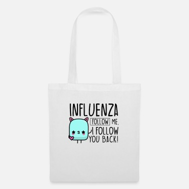 Influenza Influencer influenza - Tote Bag