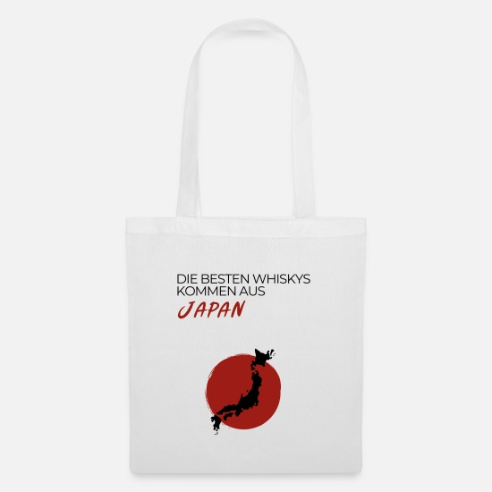 Gift Idea Bags & Backpacks - The best whiskeys are from Japan - Tote Bag white