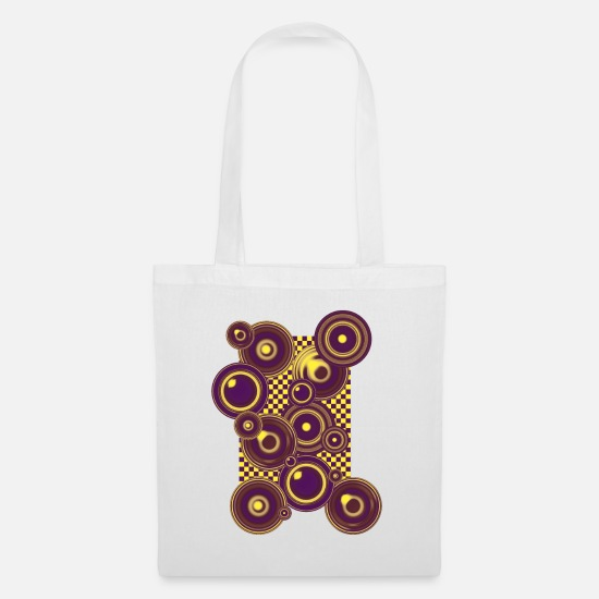Wealth Bags & Backpacks - Op Art 4 - Tote Bag white