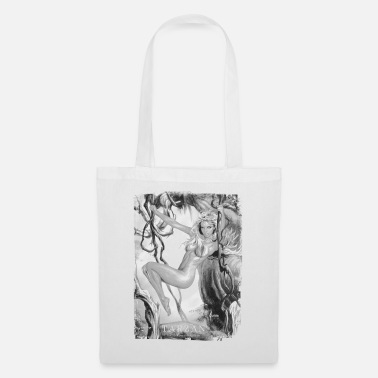 Wolfskind Tarzan 'Jane in the jungle' - Tote Bag