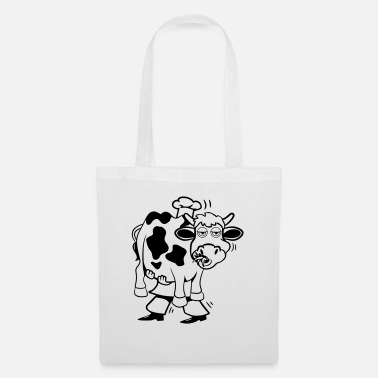 Hunger Cook cook funny cow cow - Tote Bag