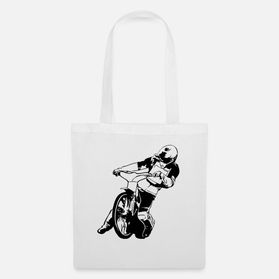 Speedway Bags & Backpacks - Speedway Racing - Tote Bag white