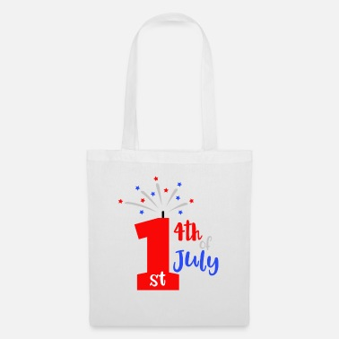 Independence Day 1st 4th Of July Patriotic American - Tote Bag